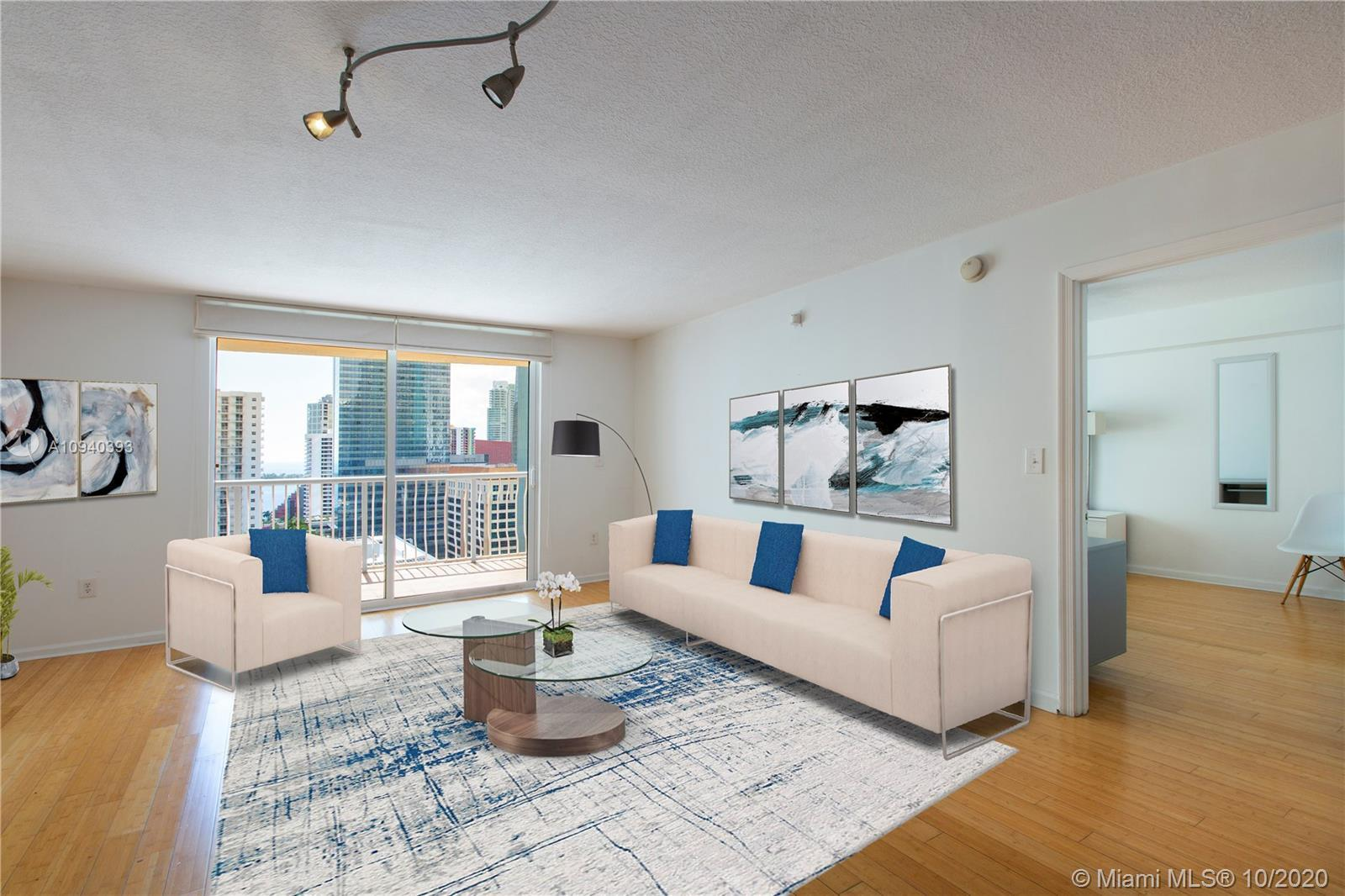Enjoy this spectacular 1/1 condo located in the heart of Brickell within walking distance to Mary Br