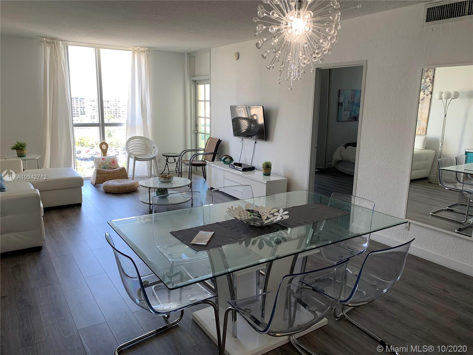 Nice 2 bed 2 bath fully furnished ready for occupancy with upgraded floors and kitchen. All inclusiv