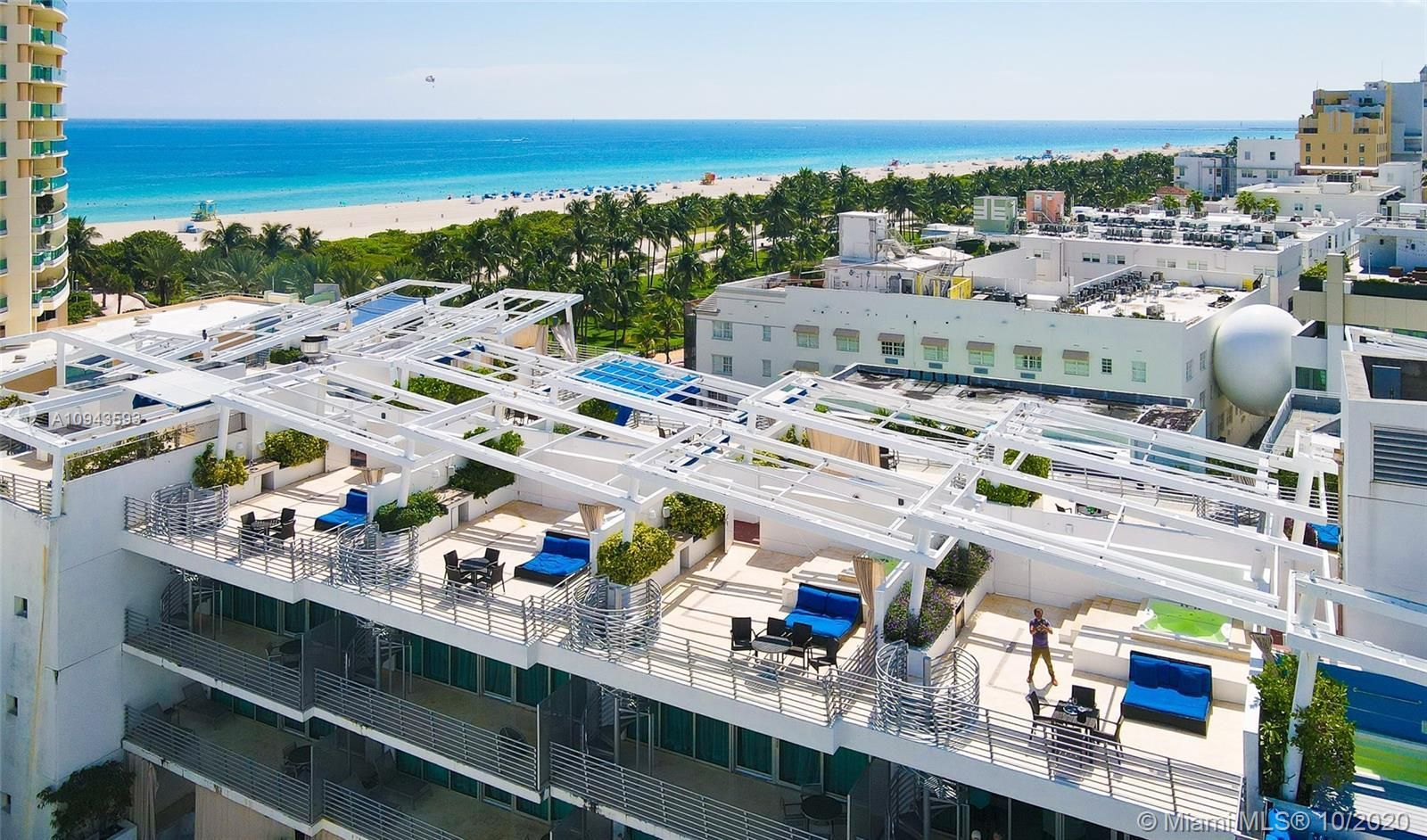 Incredible opportunity to own your own penthouse with rooftop and jacuzzi just across from Ocean Dri