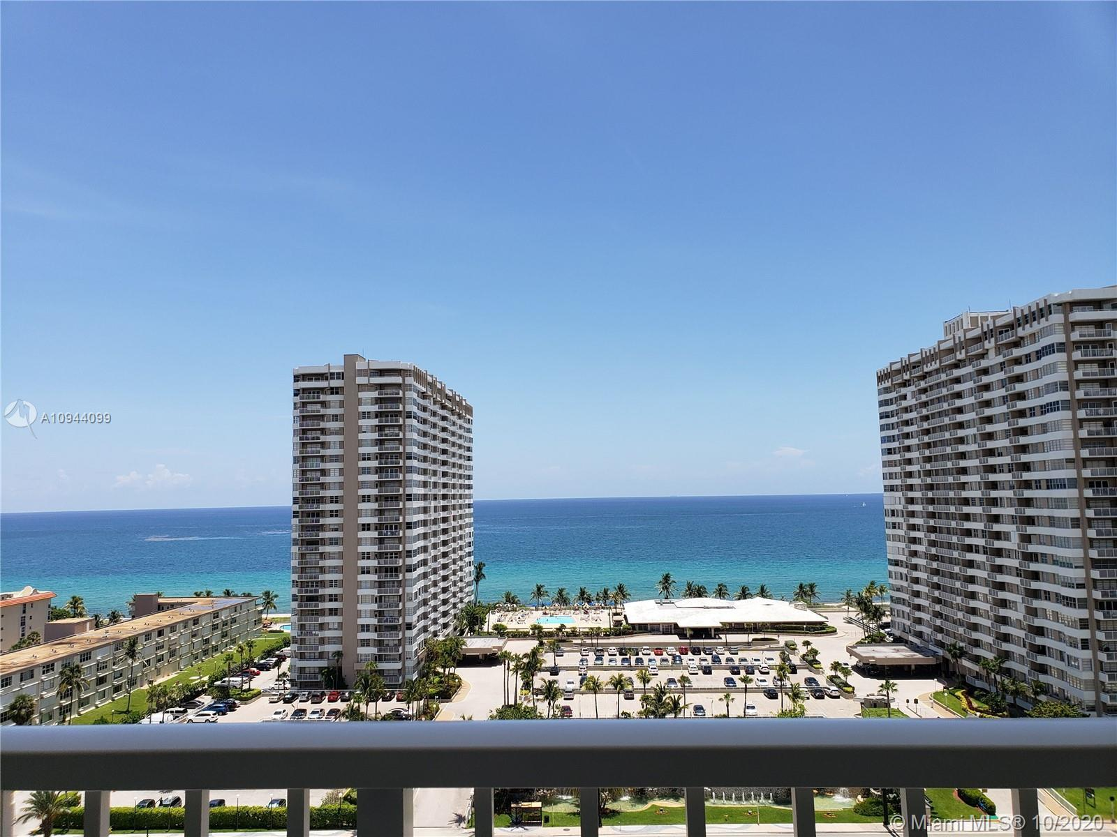 Fabulous direct ocean views from this totally updated unit has porcelain floors throughout, wooden c