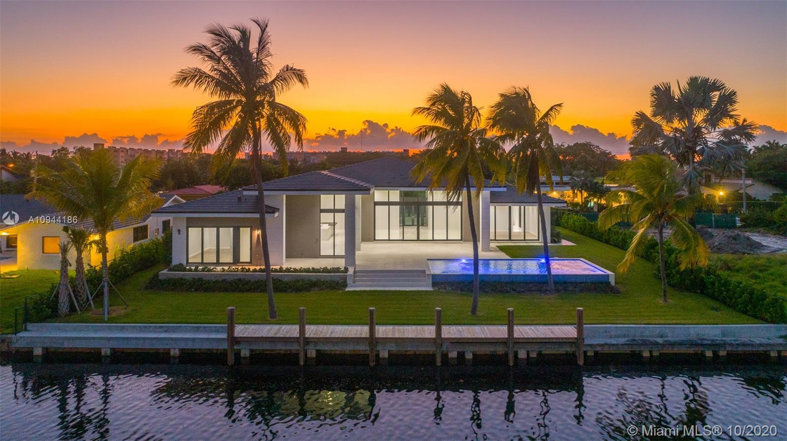 This BRAND NEW single story modern ranch-style home offers the perfect balance of both waterfront an