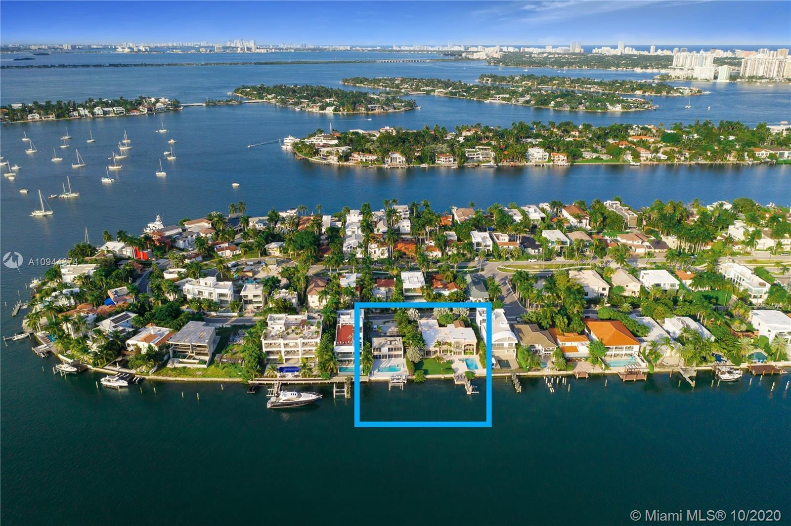 EXTREMELY RARE OPPORTUNITY to build your estate on 150' on water on a square half acre (150' wide by