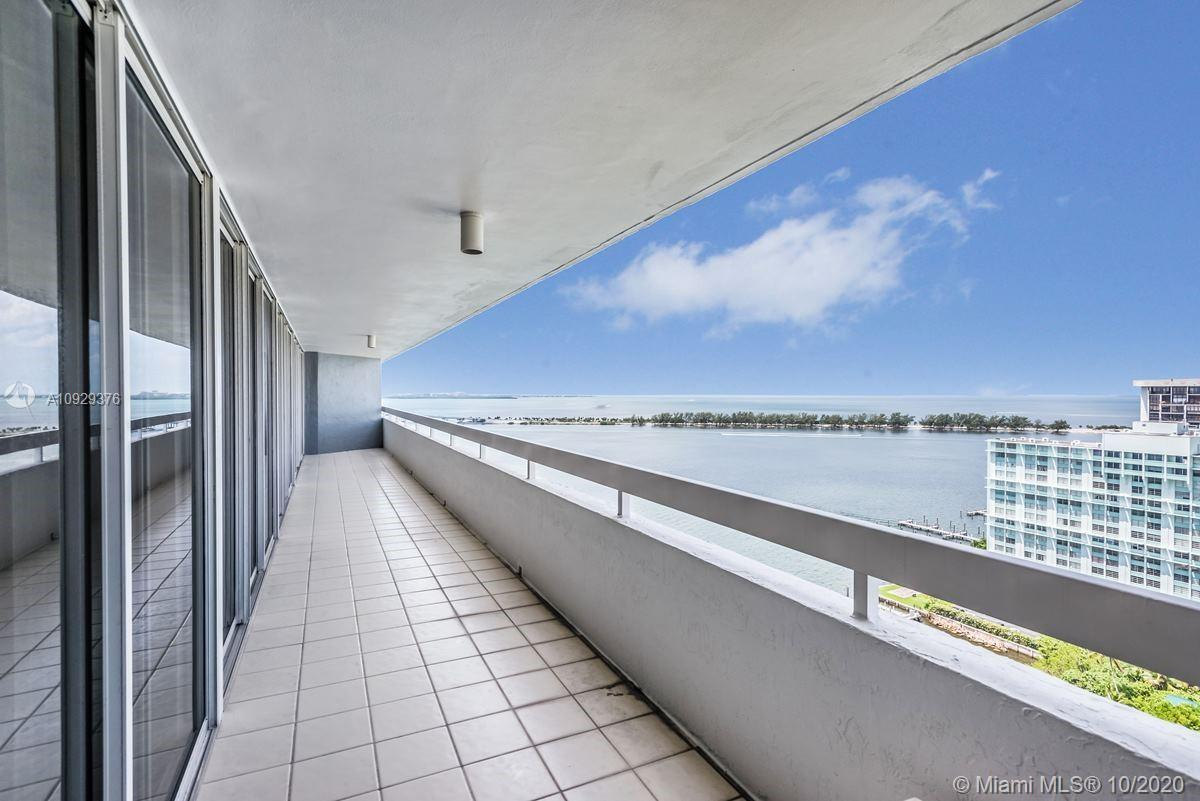 Million dollar views that go on forever! Stunning boutique Imperial at Brickell 3 bedroom, 2 1/2 bat