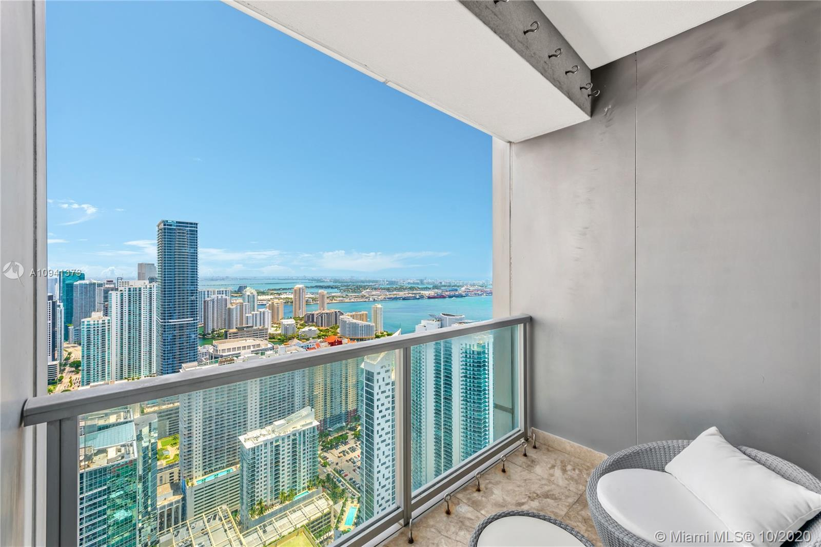 Prestigious Four Seasons Residences Miami… Stunning and incredible views of the bay and city from th