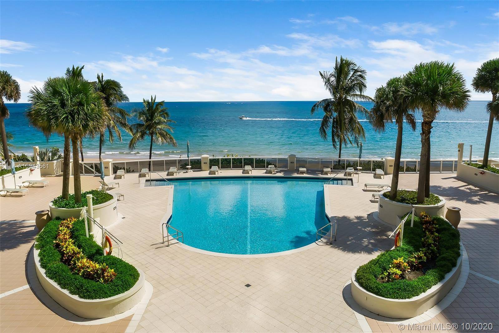 Stunning direct ocean views with resort-like amenities, L'Ambiance is one of the most popular buildi