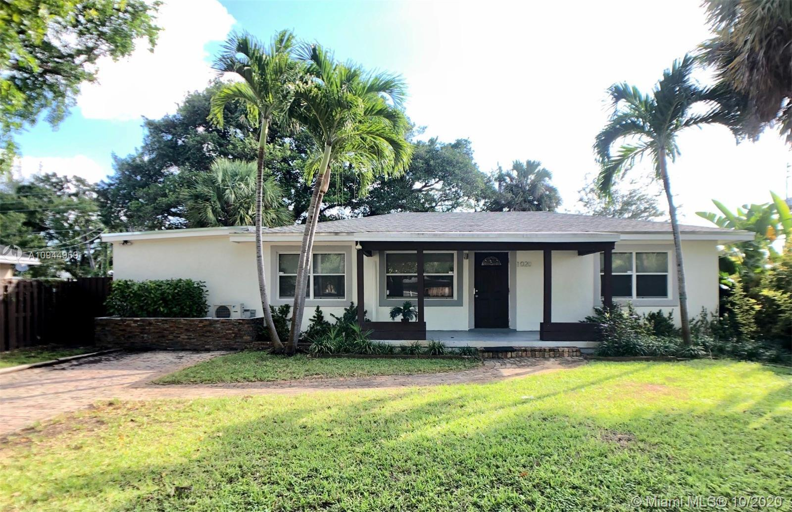 Tenant occupied until 3/31/2021. GORGEOUS remodeled 4 beds 2 baths home close to downtown Fort Laude