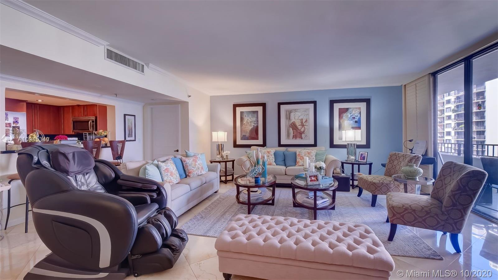Love at first sight does exist! This delightful condo at the highly acclaimed Brickell Key One offer