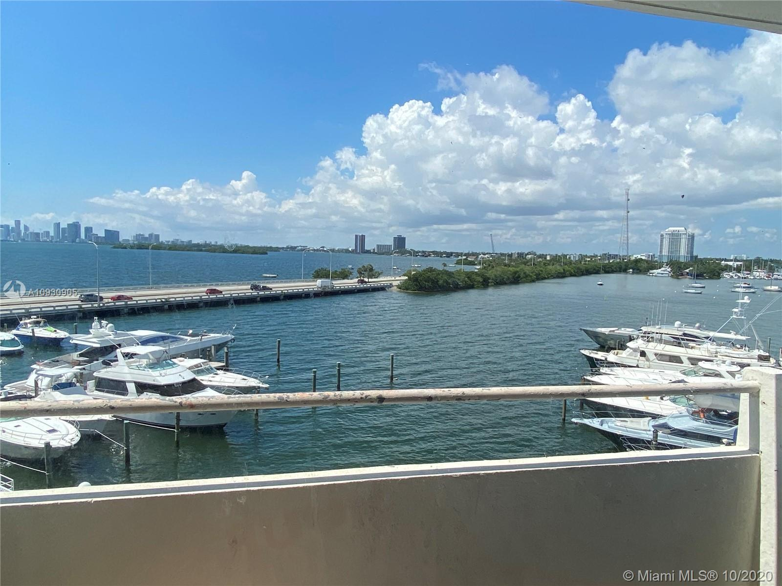 Situated in the heart of North Bay Village, overlooking the bay and Downtown Miami. Great opportunit