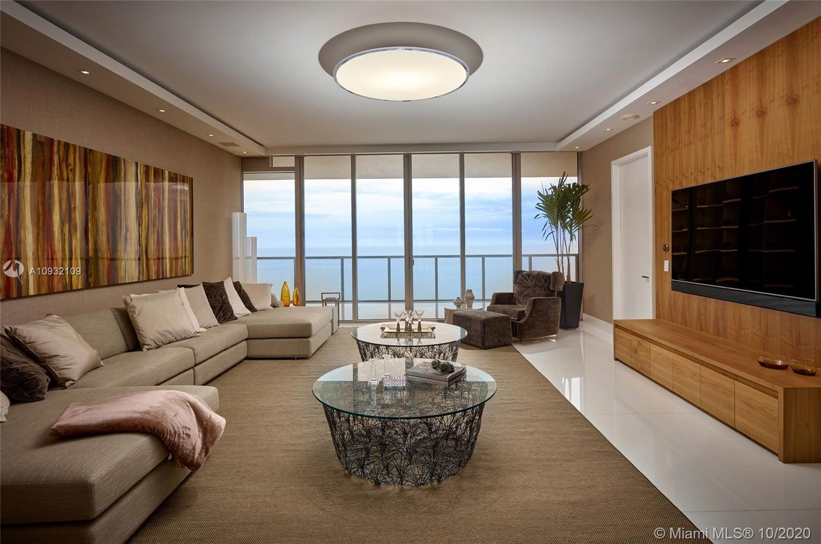 Immaculate Residence Custom Designed available at St Regis Bal Harbour. Enjoy Direct Ocean and Panor