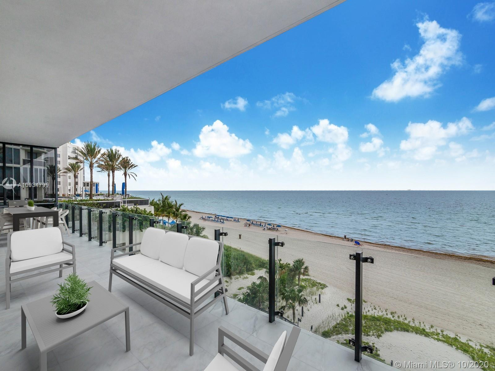 Fabulous ocean views at exclusive MUSE residence. Highlights include private ocean view, outdoor gri