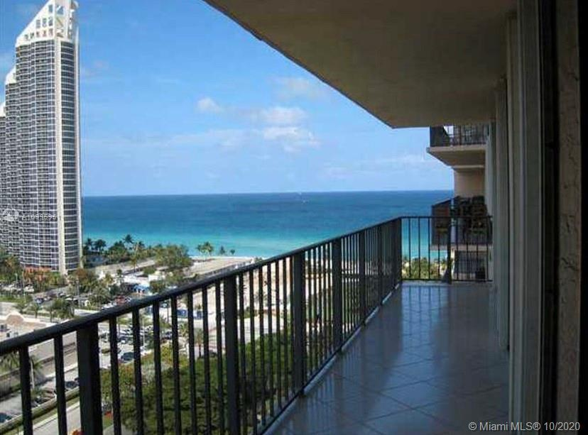 Beautiful ocean view condo just across from the beach. Spacious 2 bedrooms 2 bathrooms with huge bal