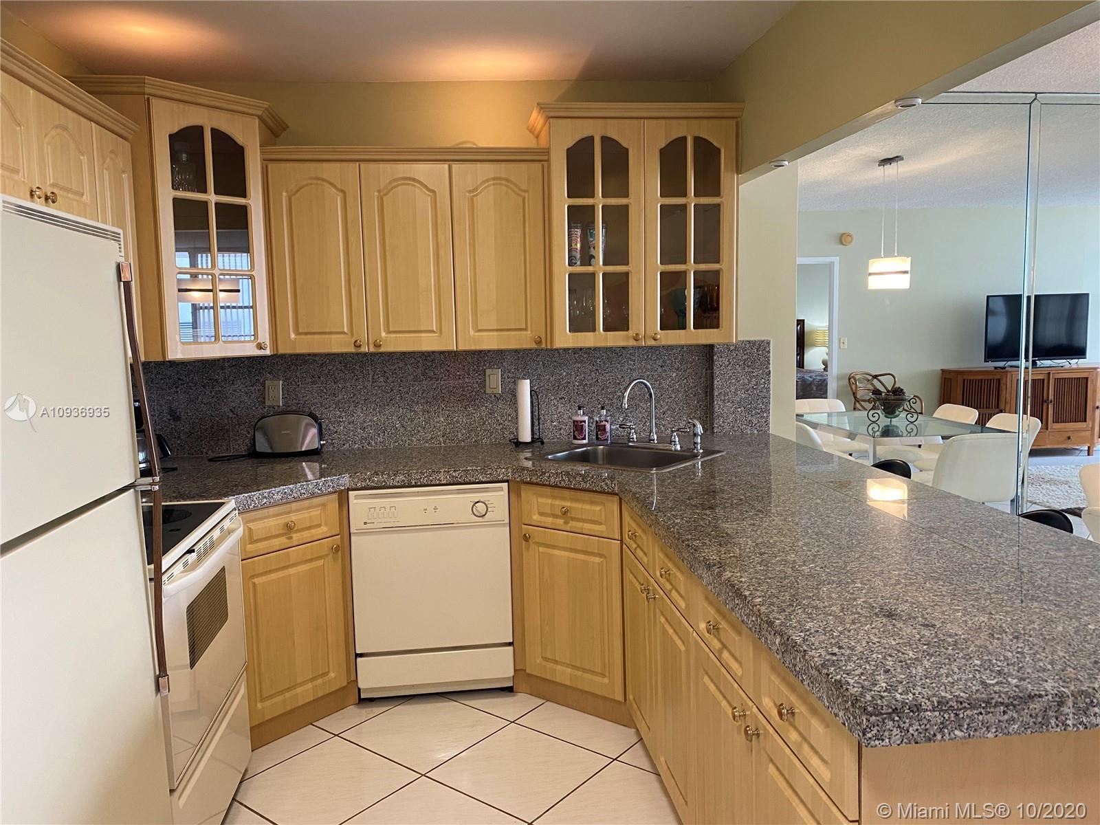 Oceanfront 1 bedroom with 2 full baths stunning apartment, completely renovated, large open floor pl