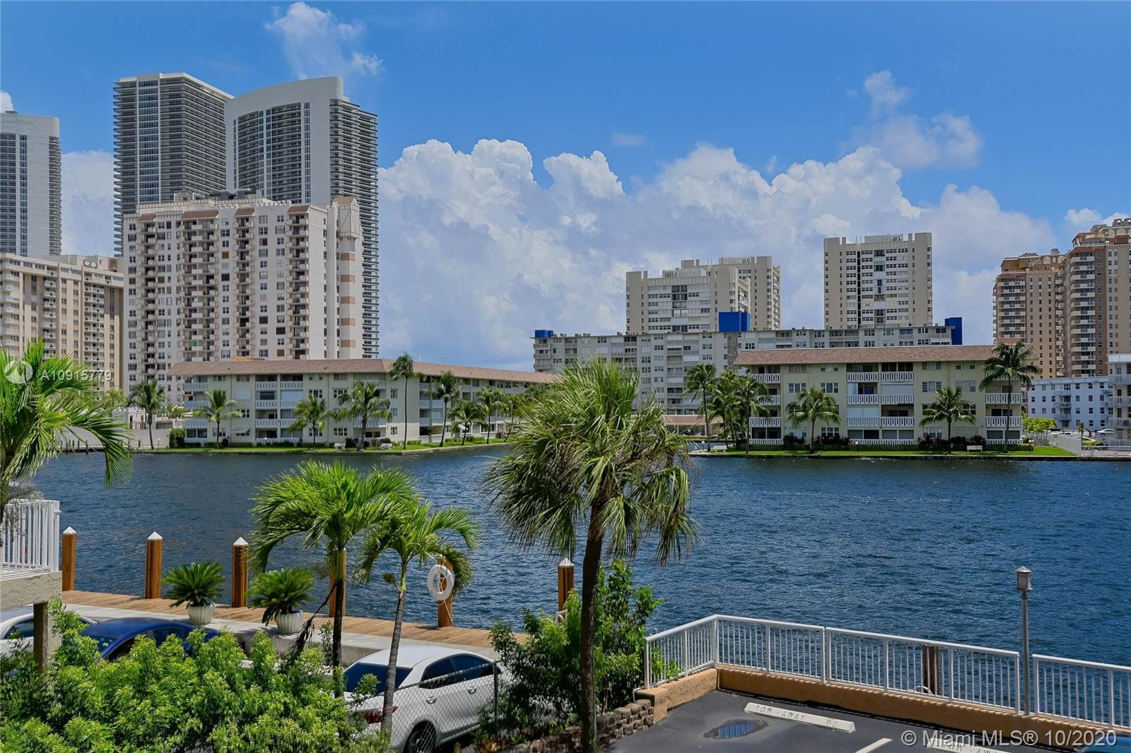 Relax watching boats pass by from this 