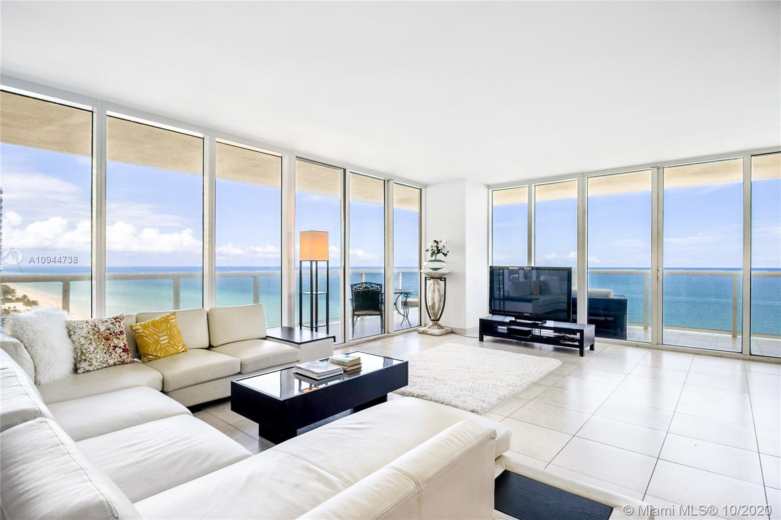 Direct ocean front corner unit with 2,065 sq. feet, wraparound balcony with spectacular unobstructed