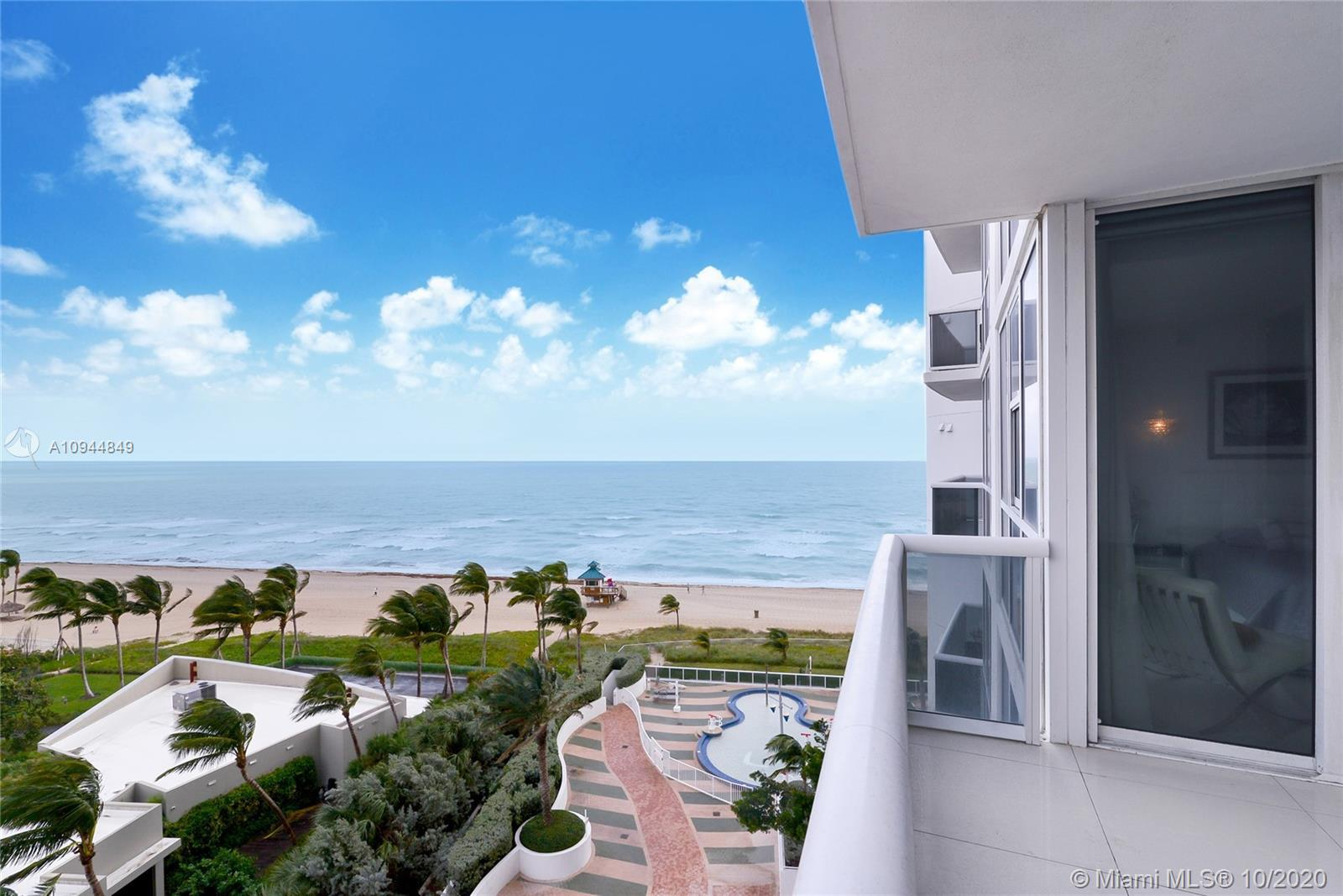 """Priced to sell! Amazing 2-bedroom condo with Northeast views of the ocean in the prestigious Trump"