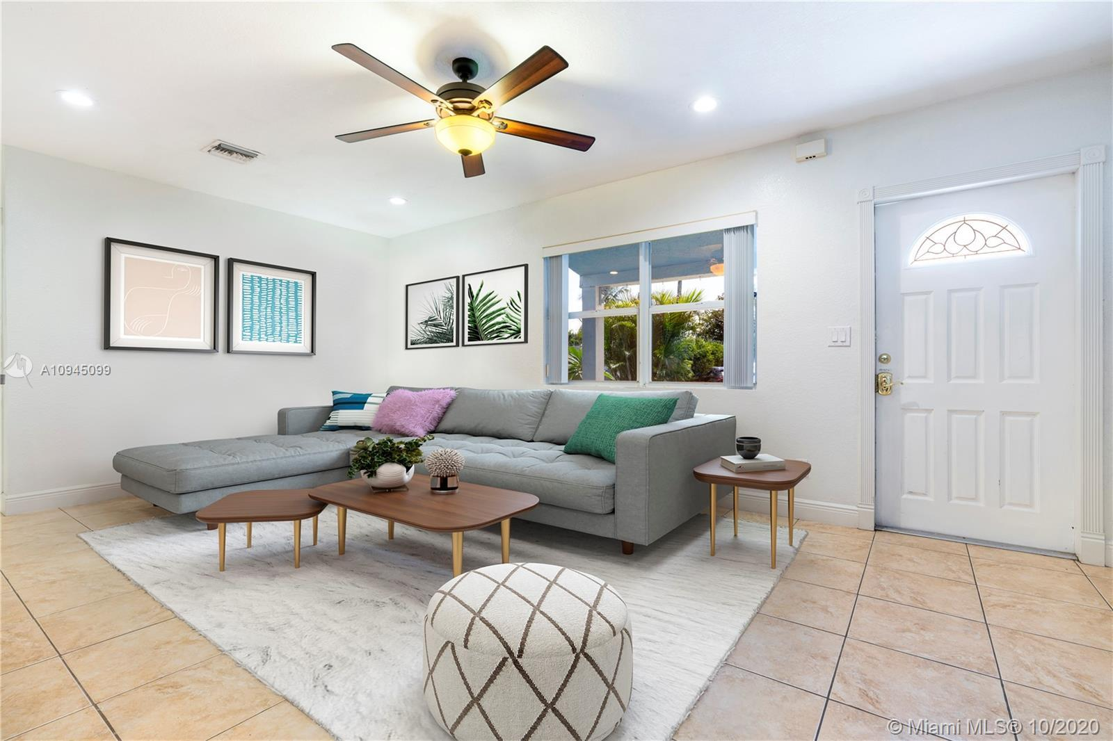 This lovely and spacious 3/1 home is perfectly situated in South Middle River in Fort Lauderdale. Th