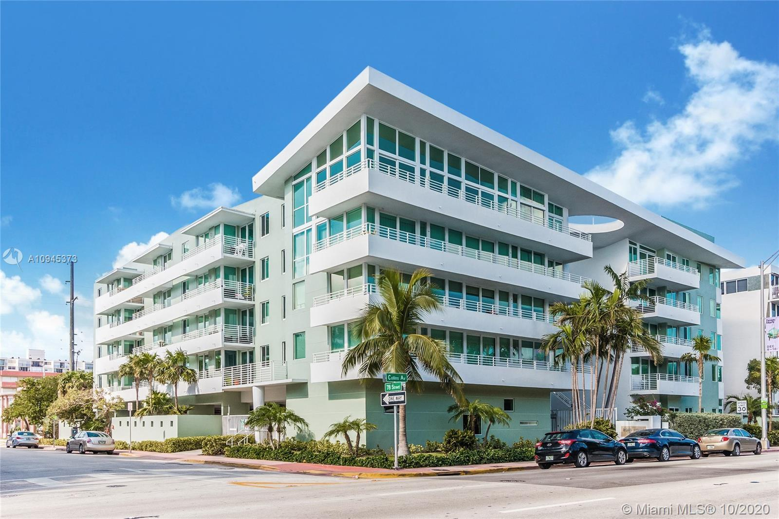 Check out this  great beach condo on Collins Avenue, conveniently located within steps to the beach!