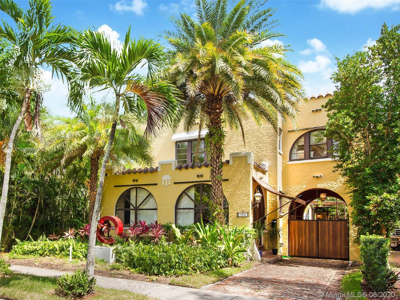 This Mediterranean-style home in the heart of Buena Vista East will immediately charm you with its h