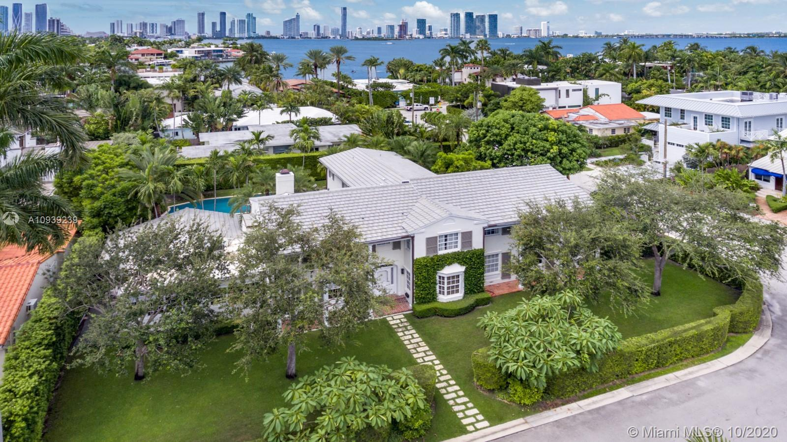 The Hamptons embodied on the Venetian Islands! Situated on a 15,000SF corner double lot, this swanky