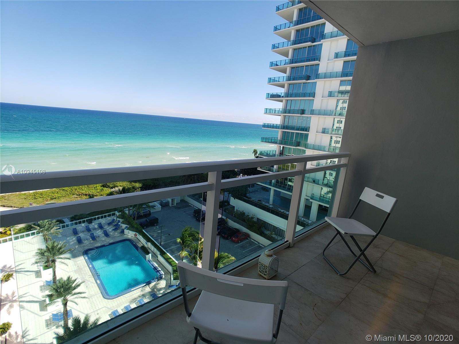 STUNNING, Breathtaking direct UNOBSTRUCTED Ocean Views from every room. Unique Floorplan 1 Bed + 1 D