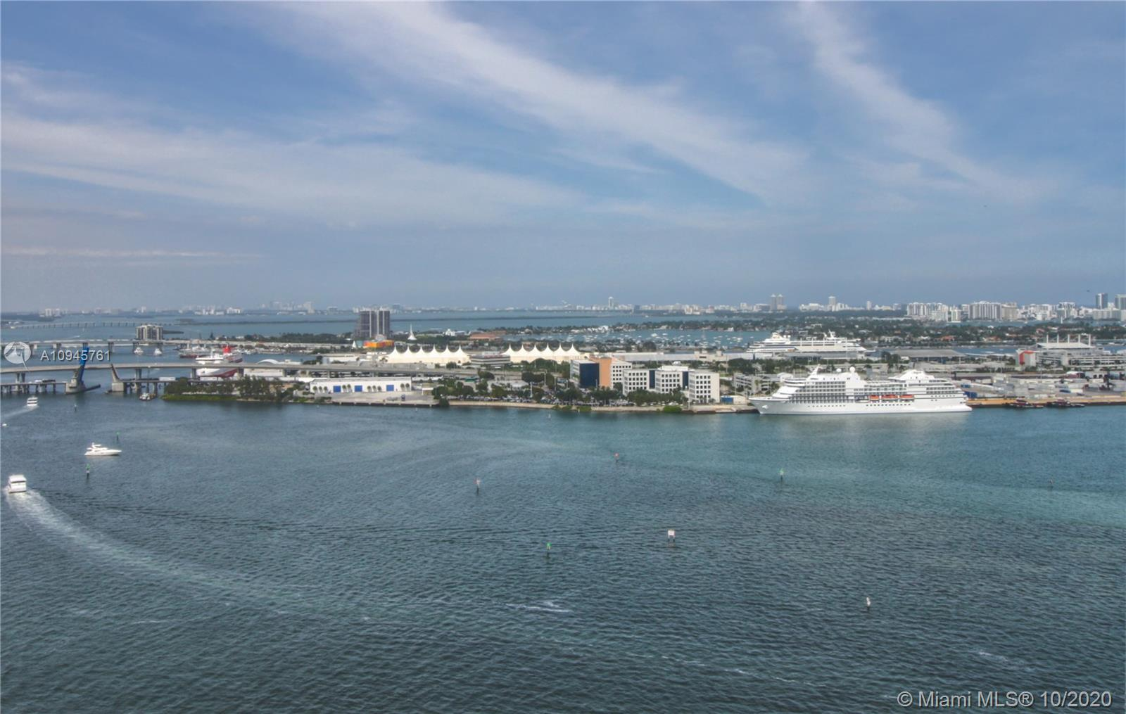 Spectacular Cornet unit 3 bedrooms, 3.5 bath, direct water views. Apartment is completely remodel wi