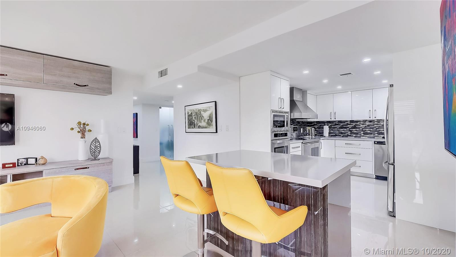 Bright and spacious, this beautifully remodeled unit has everything from a large kitchen, breakfast