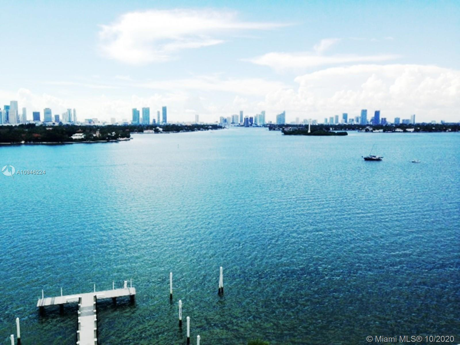 Breathtaking Direct Bay View & Miami's Skyline. 1 /1 unit with assigned parking space #206,valued at