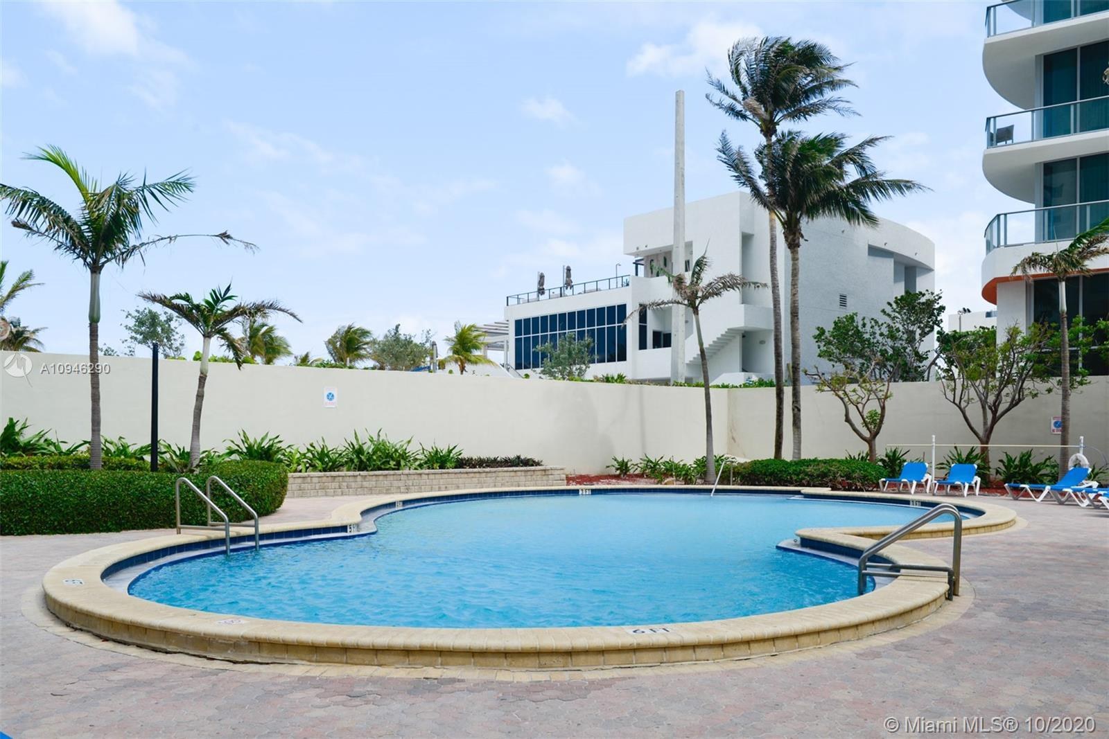 This Oceanfront, Direct Beach Access Fully Remodeled Spacious 2 Bedroom Condo With 2 Baths Has OCEAN