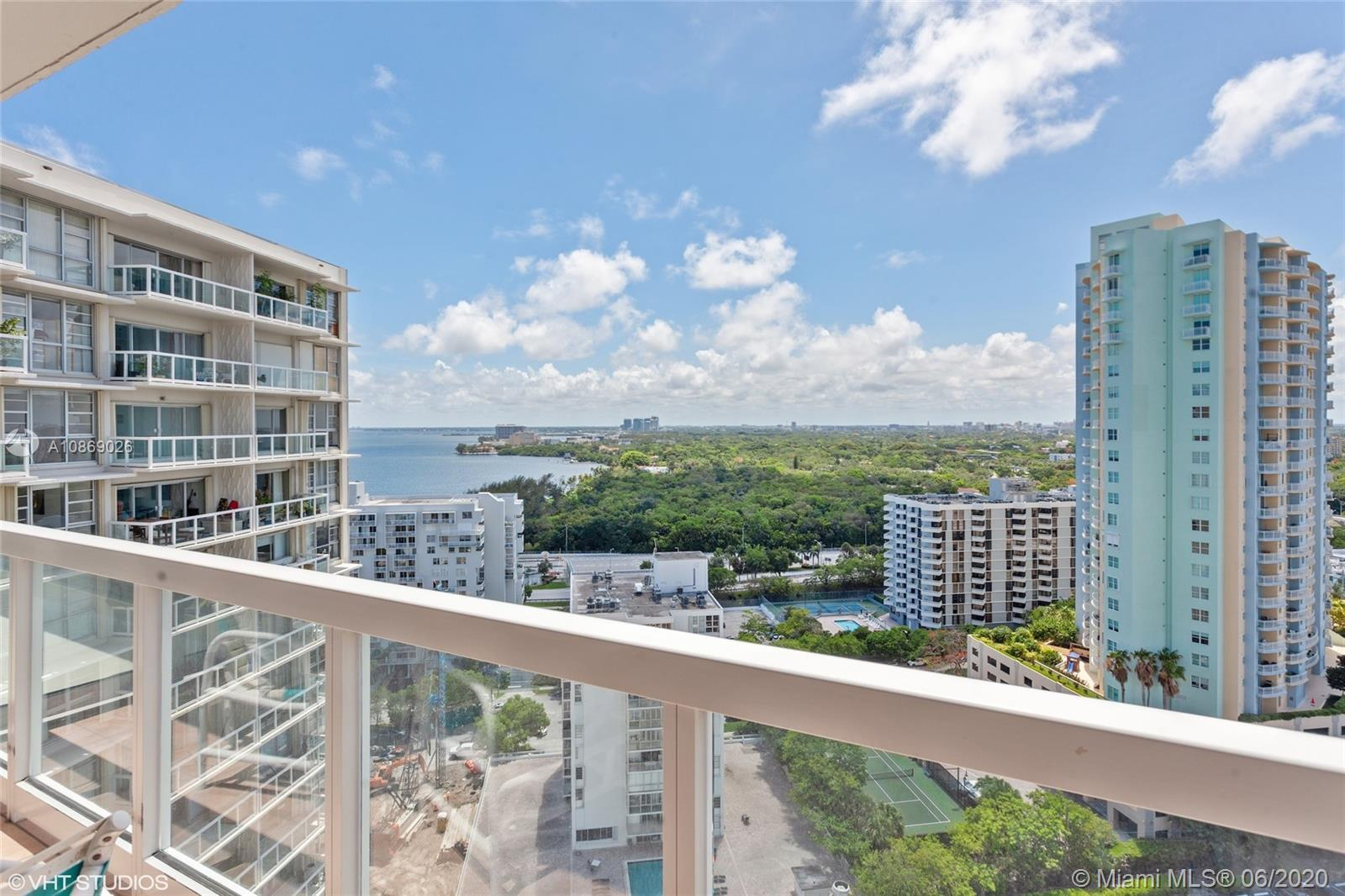Stunning 20th floor, high level residence featuring endless sweeping awe-inspiring Biscayne Bay and