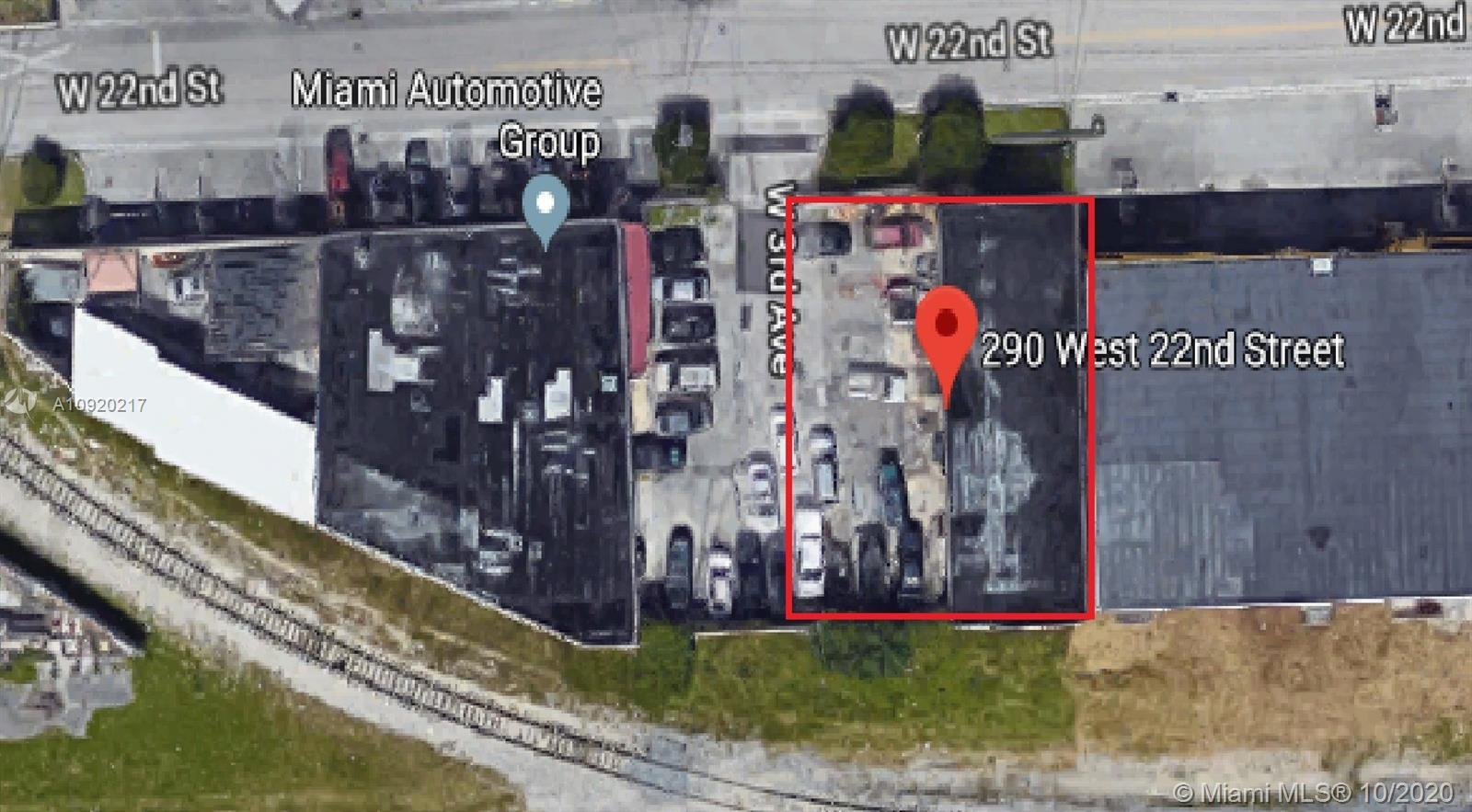Two buildings with separate folios for sale.   folio#04-3107-010-0160 and 04-3107-006-0320 One block from west 4th ave highway NW 57th ave and 1 block form NW 74th street with access to 826 and 836