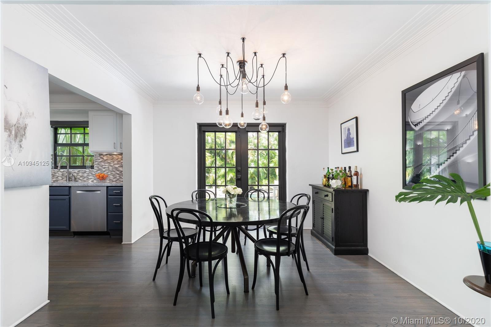 """""""Retreat 411"""" is a serene 3-bed/3-bath residence in Morningside, a guard-gated enclave in Miami's Up"""