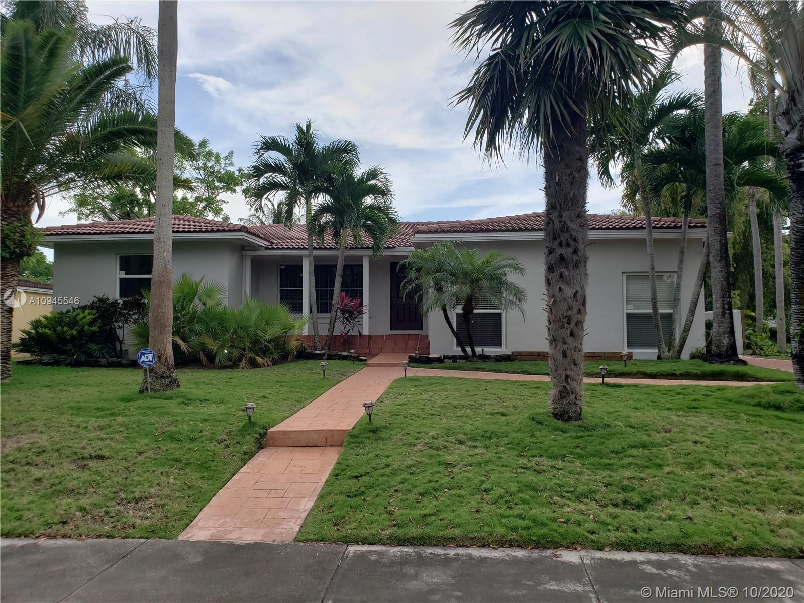 TROPICAL PARADISE IN CENTRAL MIAMI SHORES!! Beautiful, updated pool home with separate guest house.