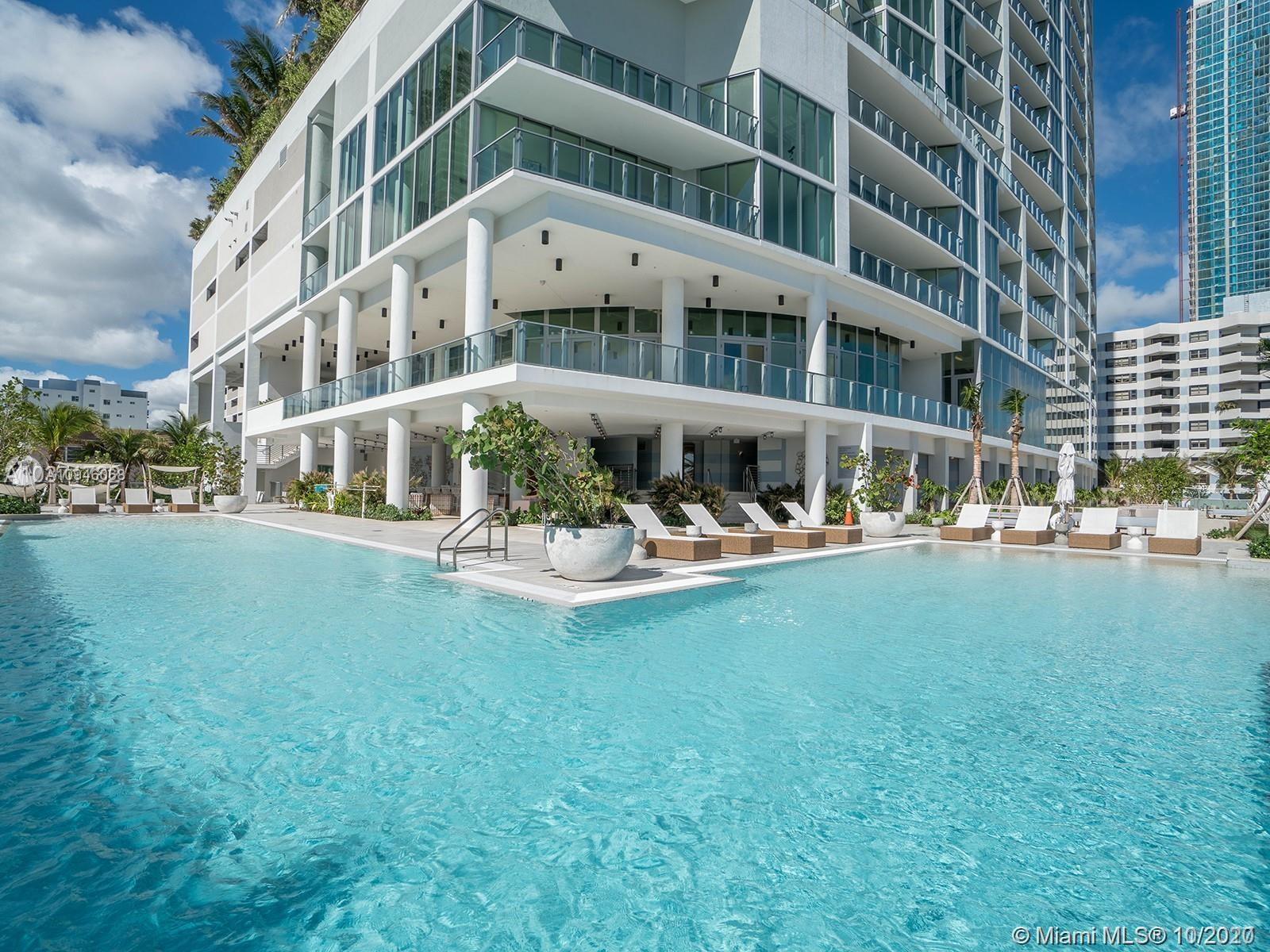 Luxuriously updated and completely furnished, 3 bedrooms with DEN and 4 full bathrooms at Biscayne B