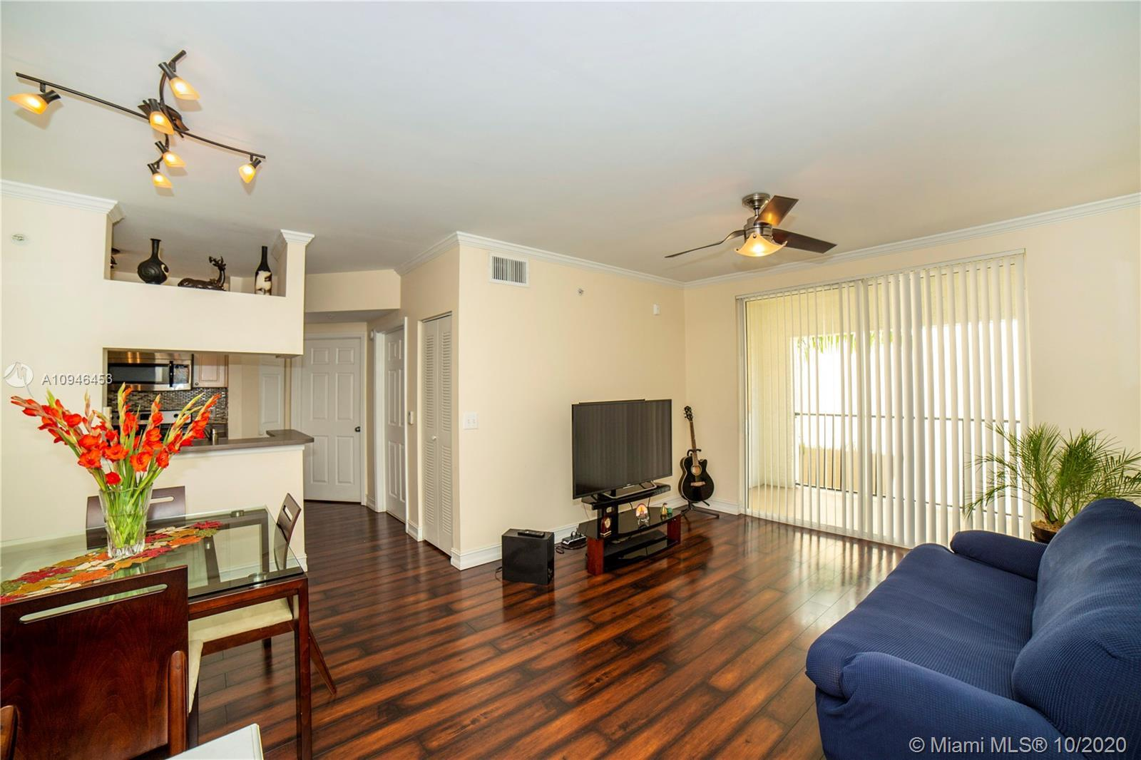 Beautiful and well located one bedroom/one bathroom Andalusia model unit with an amazing garden view