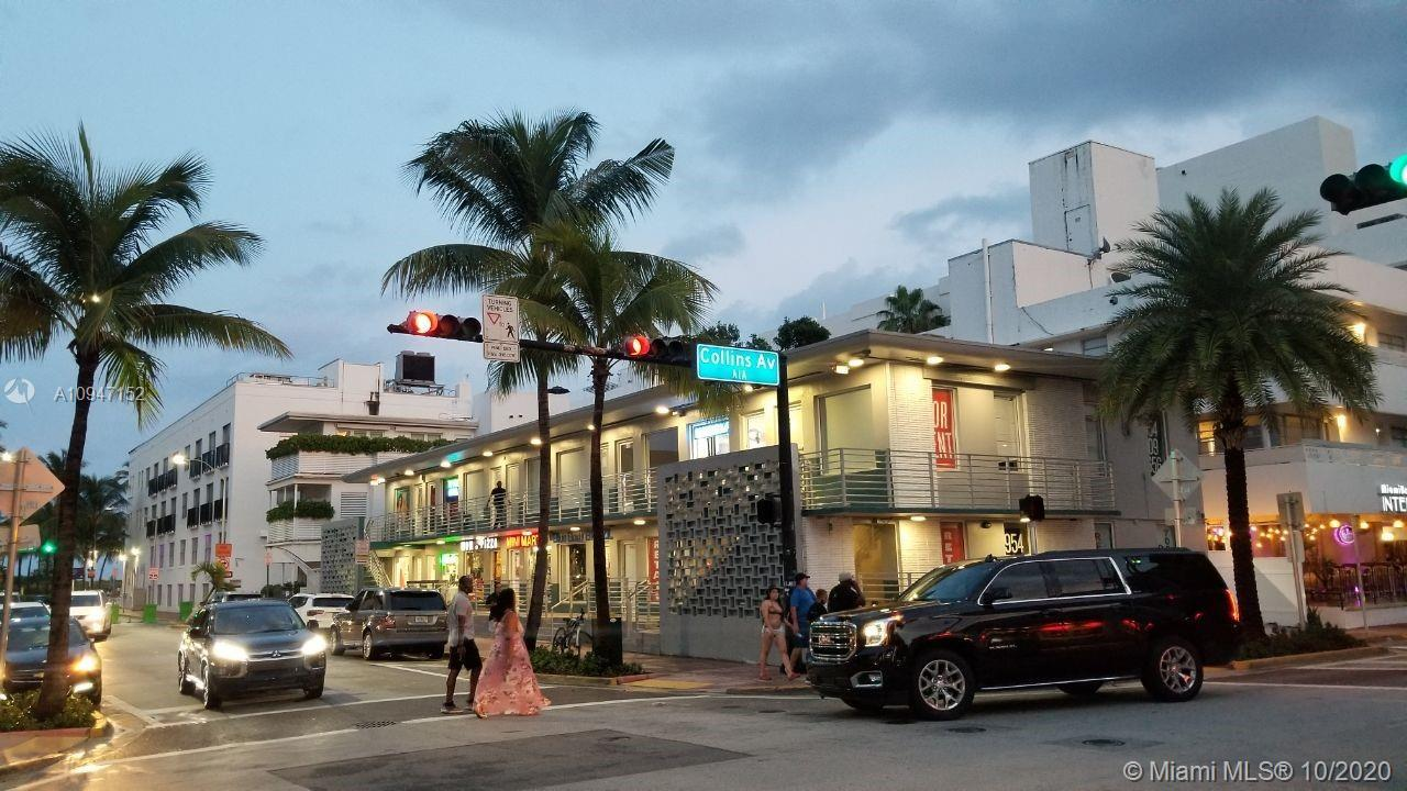Great Opportunity to lease in the heart of South Beach Art Deco District.  Steps to world famous Oce