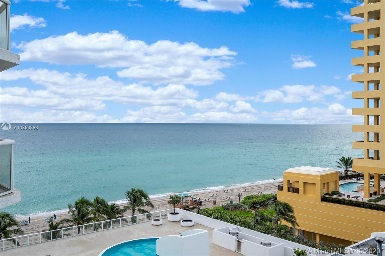 COMPLETELY RENOVATED! ENJOY AMAZING DIRECT OCEAN  & INTRACOASTAL VIEWS IN SUNNY ISLES BEACH AT OCEAN