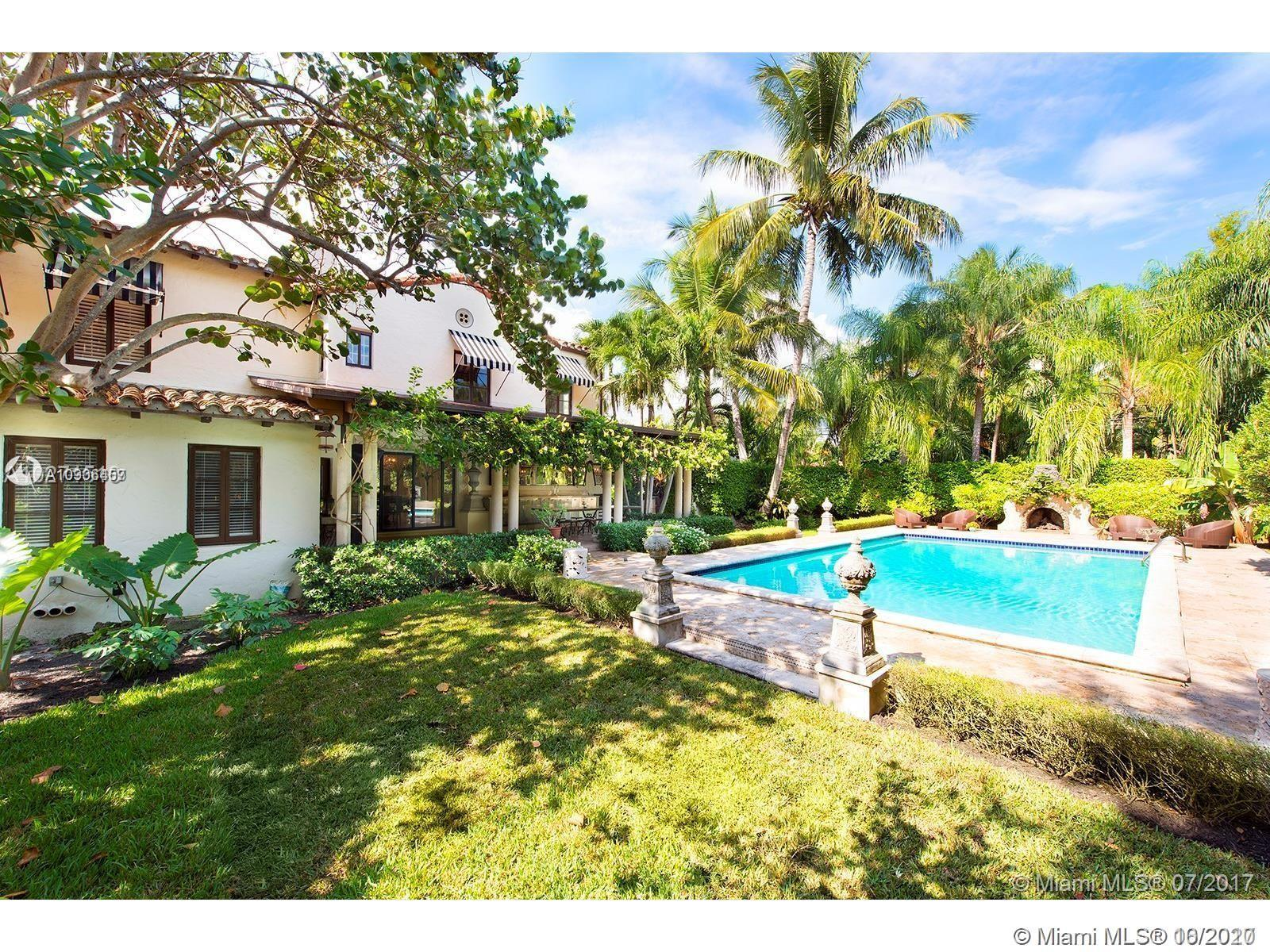 Enjoy your own elegant & private retreat in this 1926 2-story Miami Shores masterpiece! Exquisite in