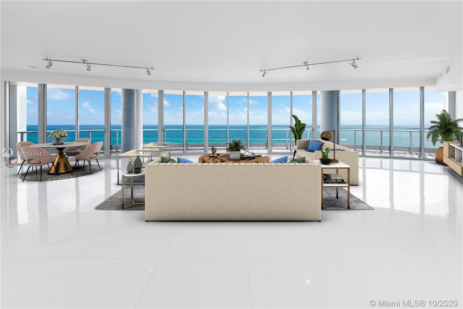 Welcome to one of the most breathtaking panoramic ocean views from this residence located at the dis