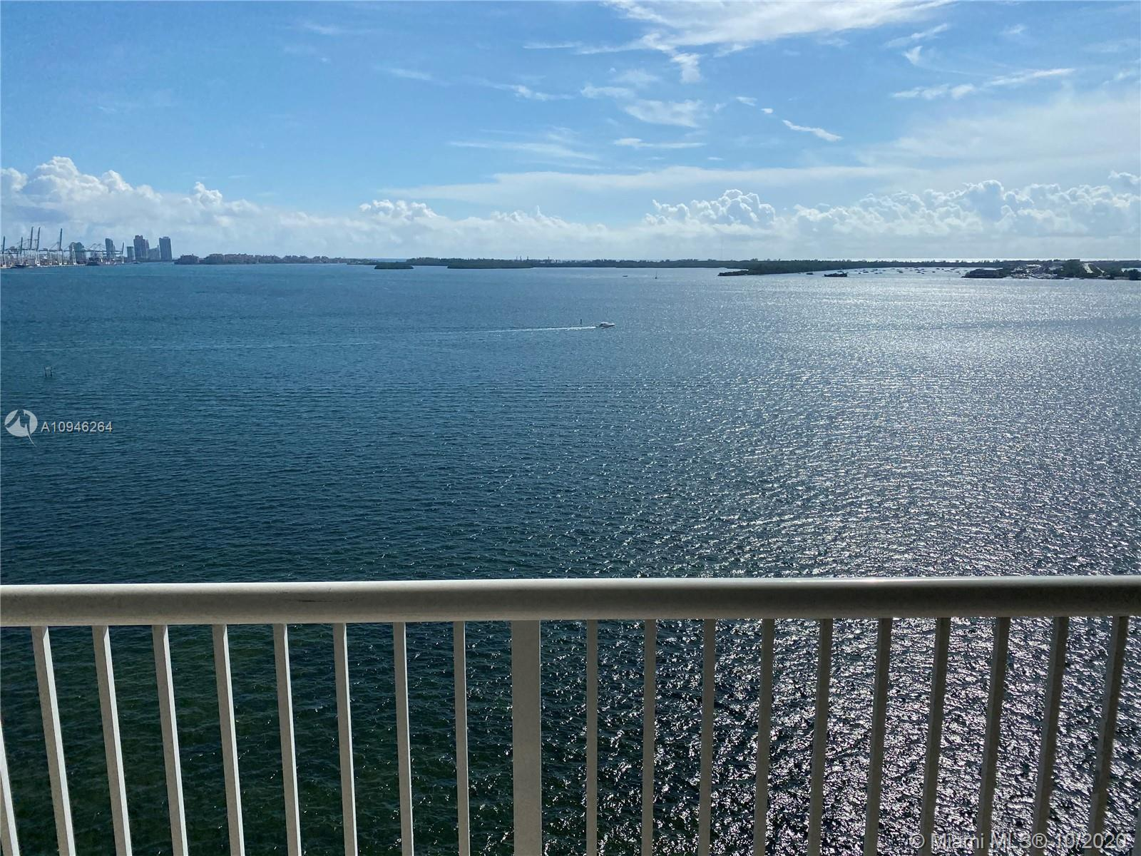 Spectacular open bay, unobstructed view! Must see to appreciate! Spacious one bedroom, one and a hal