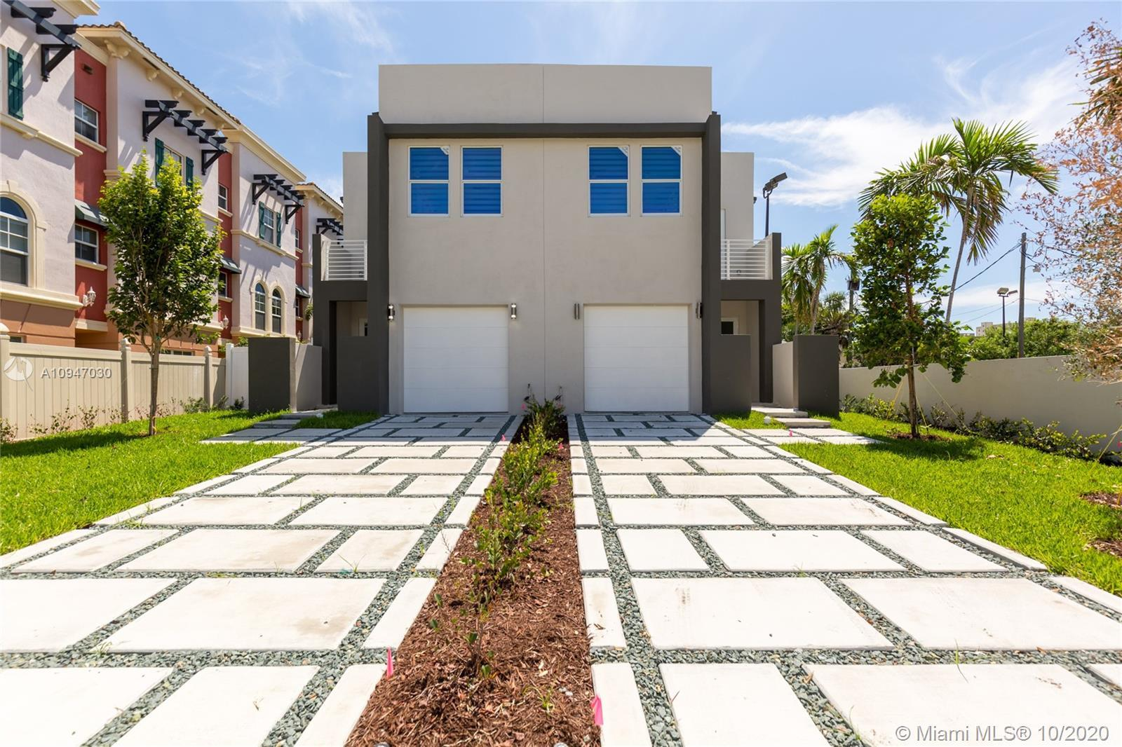New Construction. Just Completed. Modern townhouses with 3 bedrooms plus den/office (can be used as