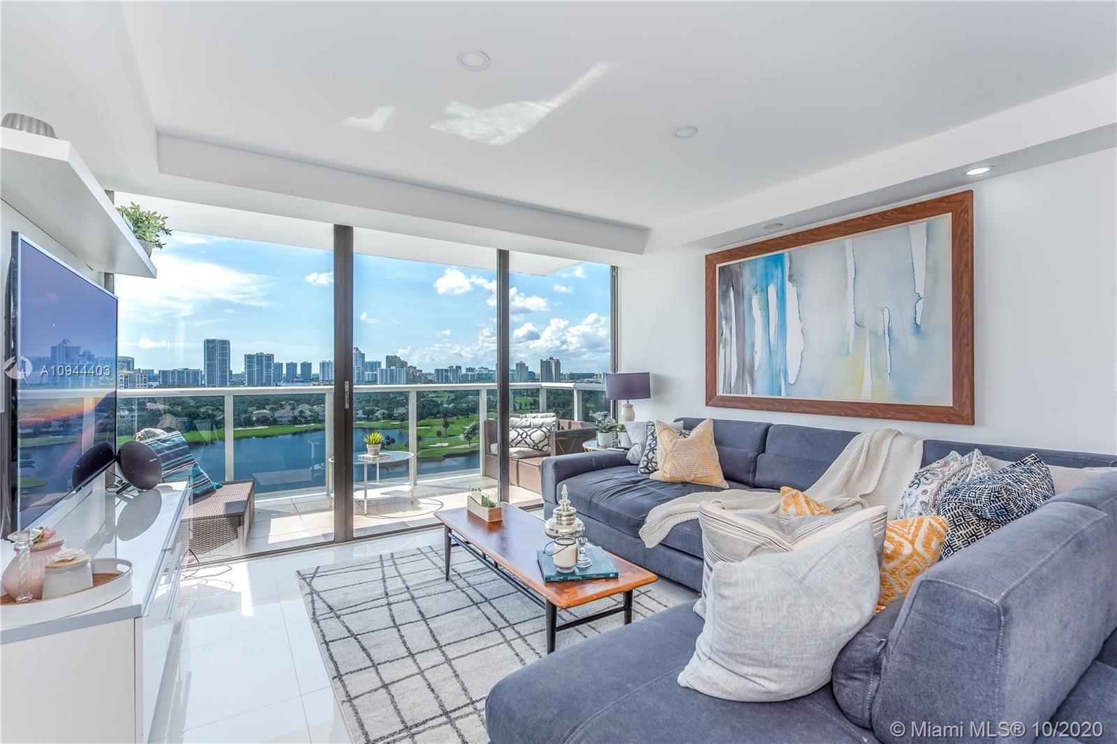 Beautiful updated 2/2 unit with the most incredible direct Turnberry golf course views, lots of natu