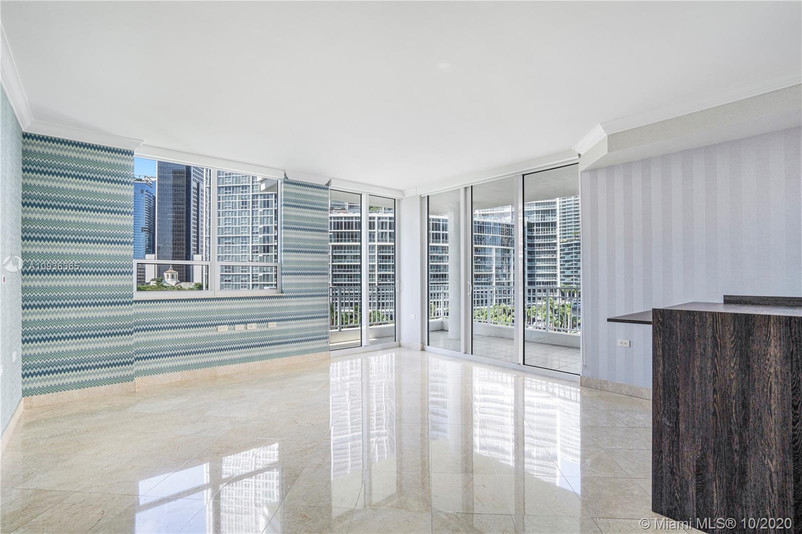Brickell Key is the best location Brickell has to offer. Walking distance to Brickell City Center an