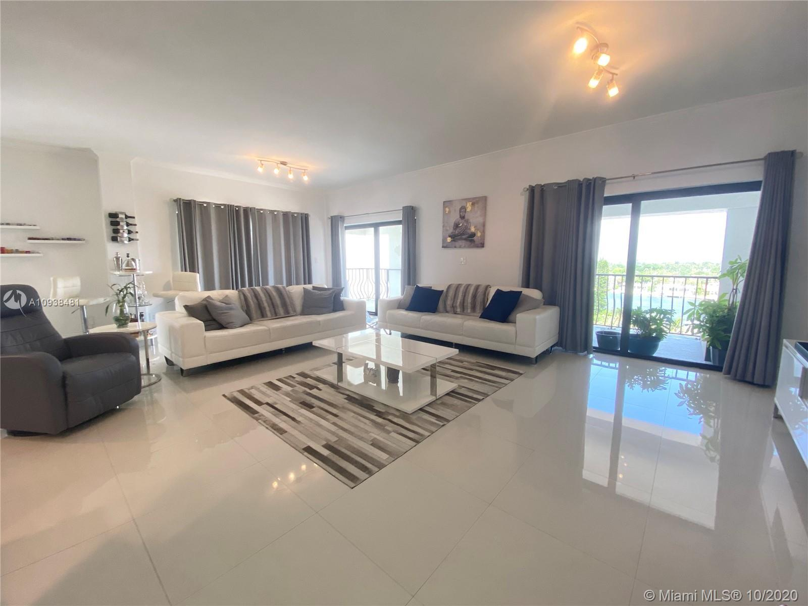 Penthouse with wrap around balcony in boutique ocean front building on Collins Avenue. Located on Mi