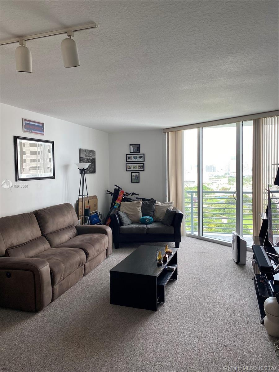 Spacious 1 bedroom with large closet in waterfront building .  Bay views from this well maintained u