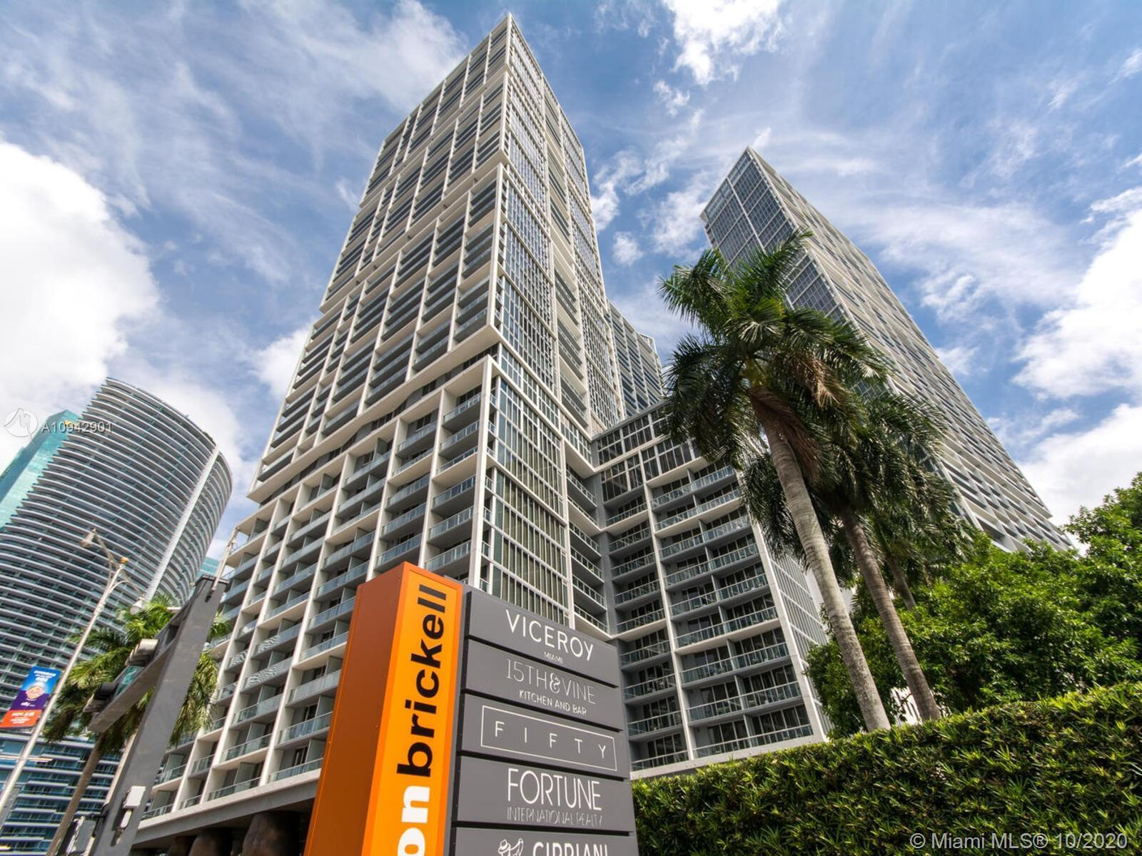 Fully Furnished by renowned Kelly Wearstler corner unit with a split layout 1,459 SQ.FT  2 bed 2 bat
