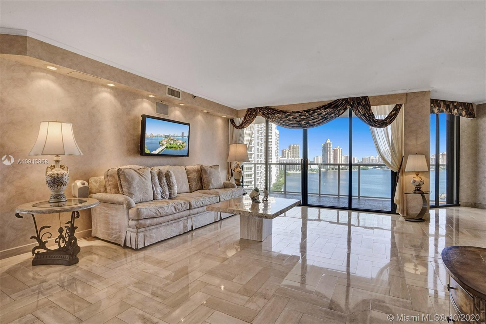MID FLOOR BEAUTY WITH AMAZING VIEWS. 3 BEDROOMS (CURRENTLY A DEN) 3 BATHS. DEN CAN EASILY BE ENCLOSE