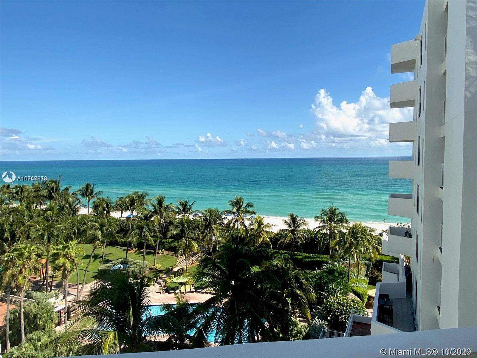 PERFECT OCEANFRONT PIED-A-TERRE AT THIS BOUTIQUE FULL SERVICE BUILDING IN A FABULOUS MID-MIAMI BEACH