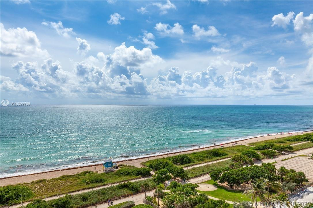 DRASTICALLY REDUCED !! BEST DEAL IN ALL SURFSIDE FOR A 3 BEDROOM / 2.5 BATHS .Ocean front building !