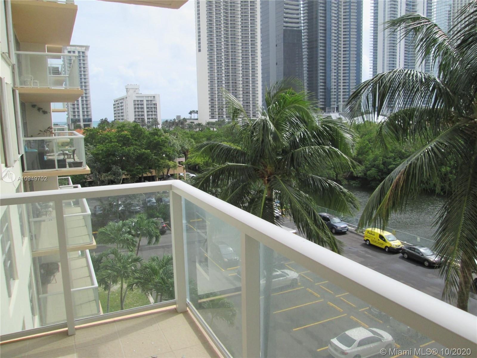 Great deal ! Full 2 bedrooms / 2 bathrooms property in the heart of Sunny Isles. New glass balcony.