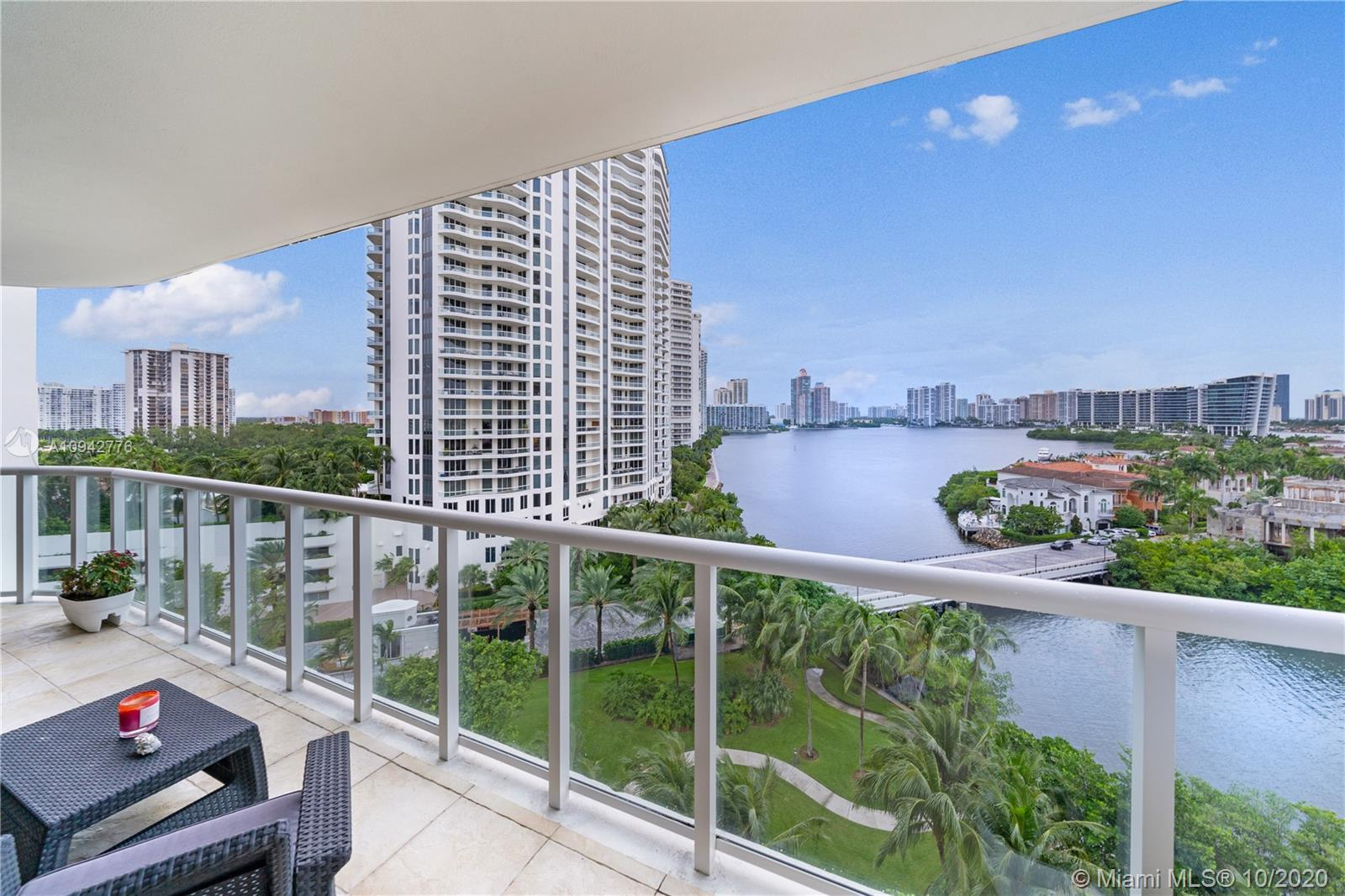Located on a 80 plus acre private residential guard gated island  in Aventura Florida. This two bedr